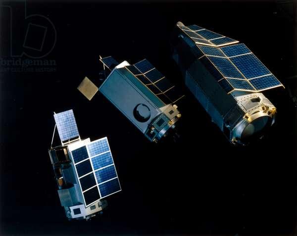 Satellites, Scientific, USA High Energy Astronomy Observatory (HEAO) satellites, 1977