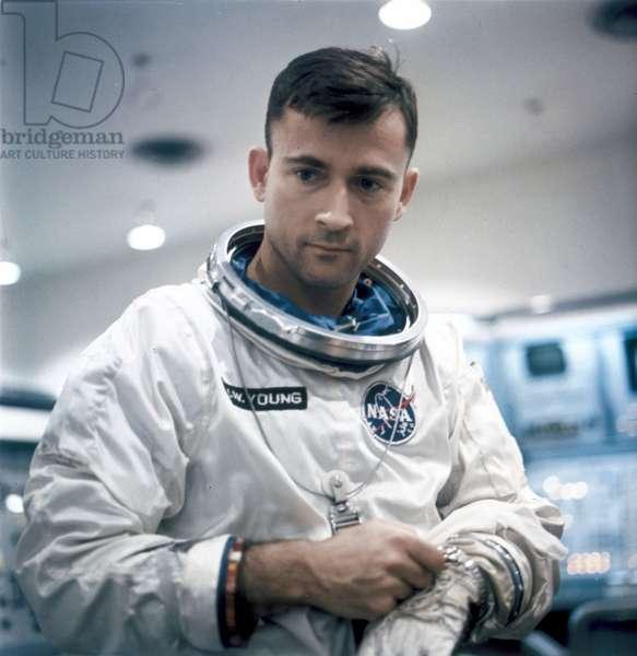 Manned Space Flight, USA, Mercury/Gemini Astronaut John Young, 1966