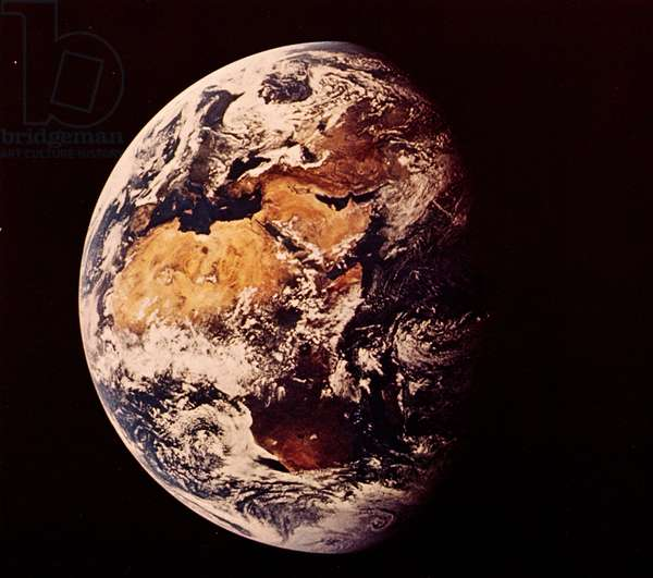 The Earth from space, July 1969