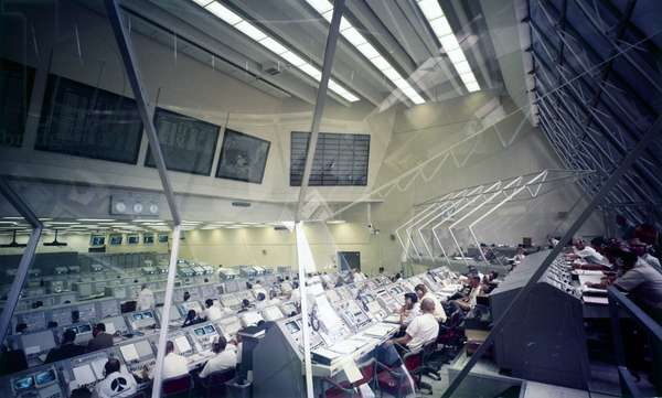 Space Centres Launch Control Centre Firing Room 3, Cape Canaveral, Florida, May 1969
