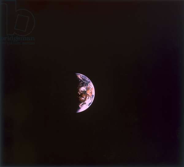 The Earth from space, 1968