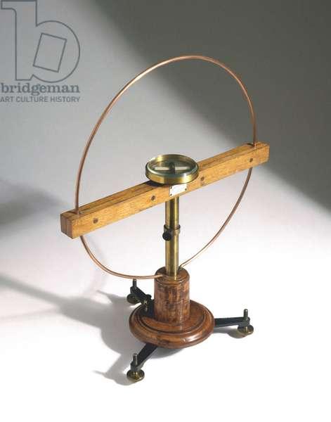 Measuring Instruments, Galvanometers Tangent galvanometer (galvanometre), 1873-1877