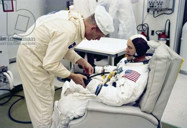 Manned Space Flight, USA, Apollo 10 Apollo 10 astronaut Thomas Stafford, 1969