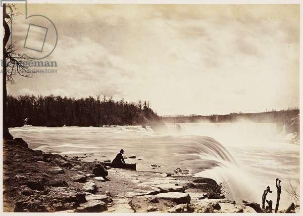 General view Niagara Falls', 1860