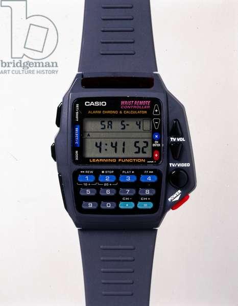 Watches, Wrist, Digital Multi-function Casio digital quartz wristwatch, 1998