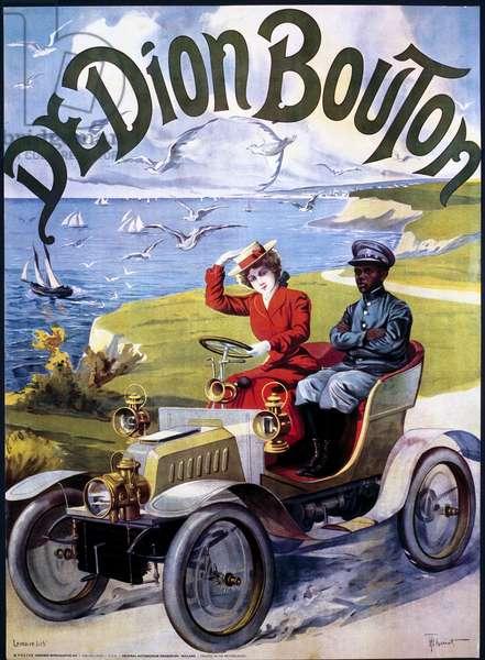 De Dion Bouton, poster, c 1910