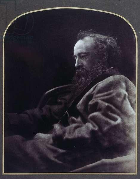 George Frederick Watts, British artist, 1864-1865