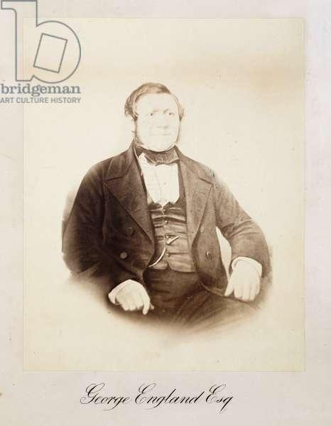 George England, locomotive maker, mid-19th century