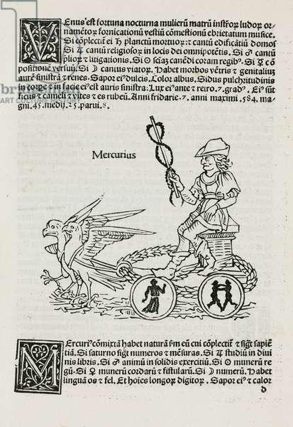 Mercury symbolised, 1489