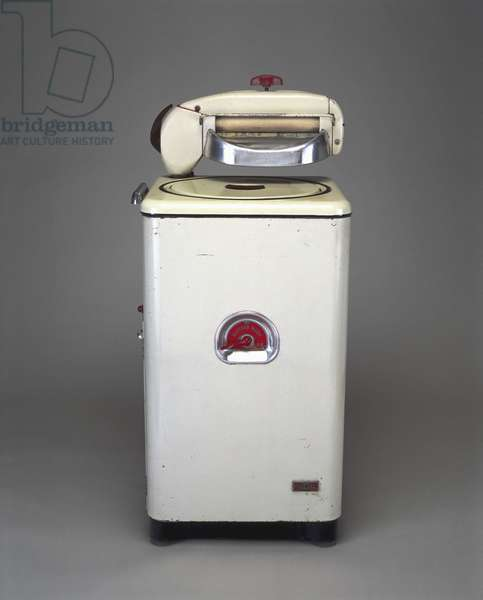 Parnall electric washing machine and mangle, 1955