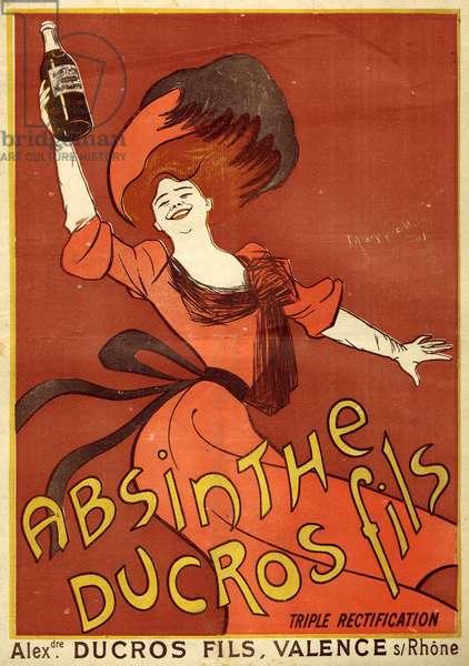 Absinthe Ducros Fils - Le Cri de Paris, 1902
