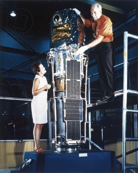Satellites, Scientific, USA The Small Astronomy Satellite (SAS-1), 1970
