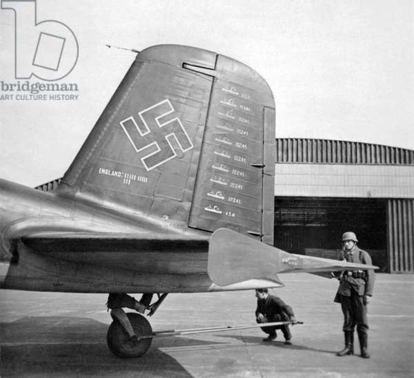 Germany : Focke-Wulf Condor with tally of ships sunk
