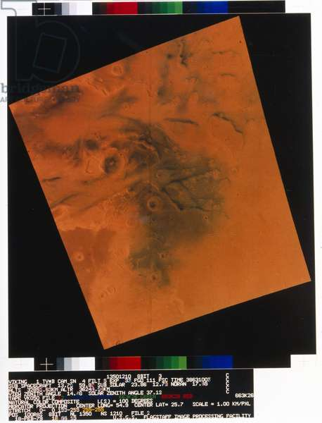 View of the surface of the planet Mars, 1976