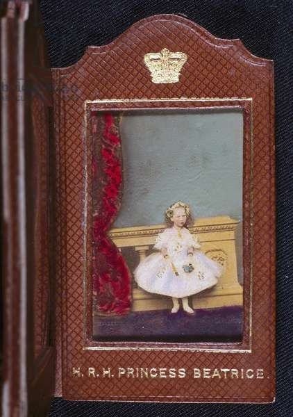 Princess Beatrice, c 1860