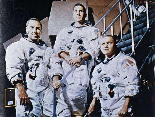 Manned Space Flight, USA, Apollo 8 Apollo 8 astronauts, 1968