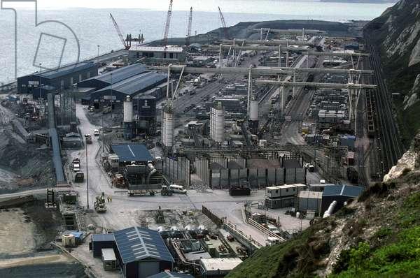 Shakespeare Cliff, Dover, 1991 (photo)