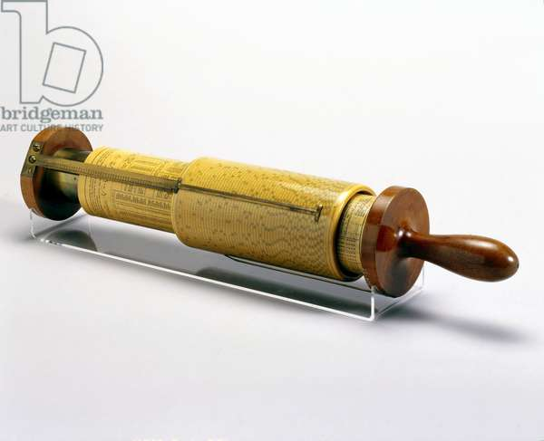Mathematical Instruments, 19th Century George Fuller's spiral slide rule, no 849, c 1880