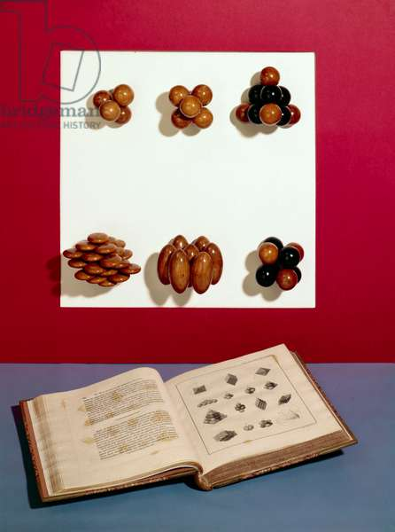 Atoms, Elements & Molecules, Models Wollaston's crystal models, 1790-1828