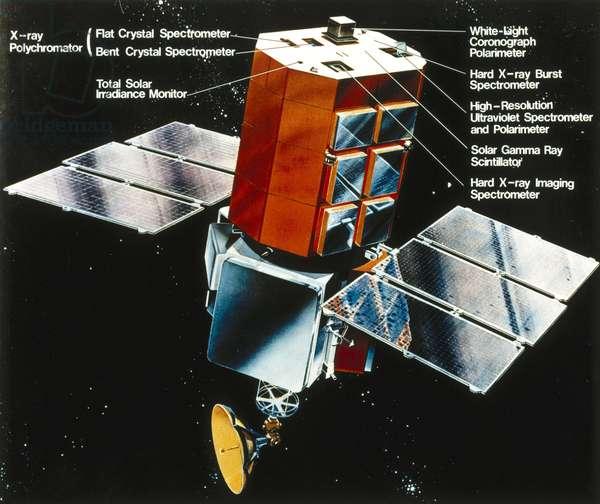 Satellites, Scientific, USA Solar Maximum Mission (SMM) satellite, 1980