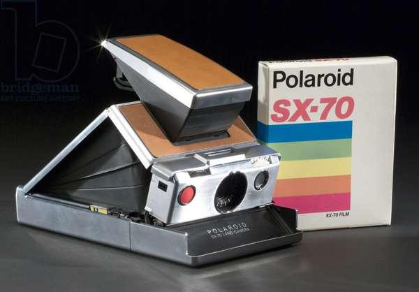Appareil photographique Polaroid SX70 model I land camera, c.1973