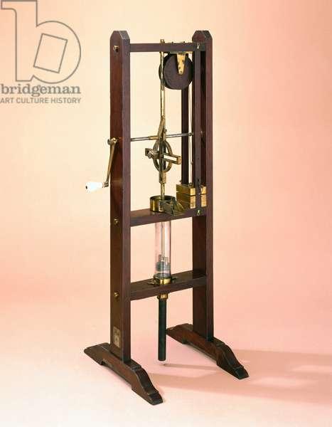 Pumps - Pneumatic Power sucking pump, 1756