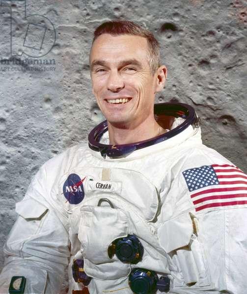 Manned Space Flight, USA, Apollo 10 Apollo 10 astronaut Eugene Cernan, 1969