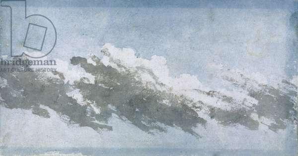 Cumulus blowing in high wind, c 1803