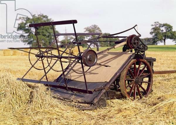 Arable Farming, Harvesting Equipment Bell's Reaper (faucheuse), 1827-1828
