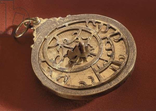 Arabian planispheric astrolabe, 1605