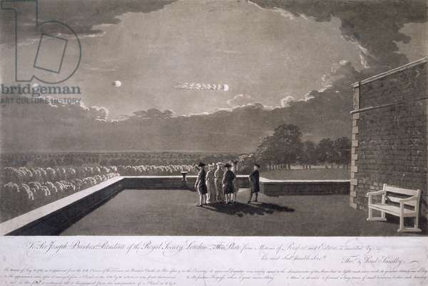'The meteor of 18 August', 1783
