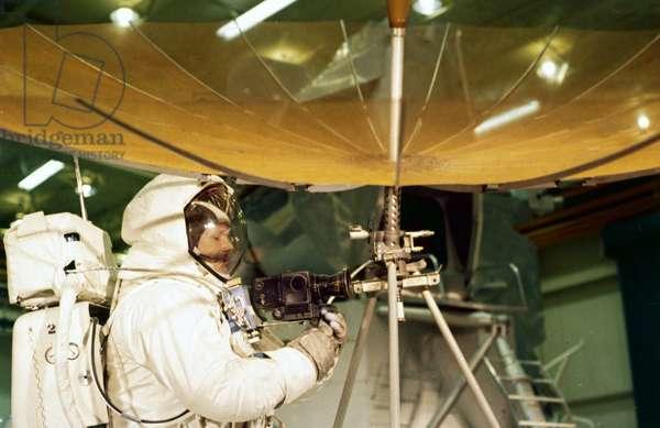 Manned Space Flight, USA, Apollo 11 Apollo 11 astronaut Neil Armstrong, 1969