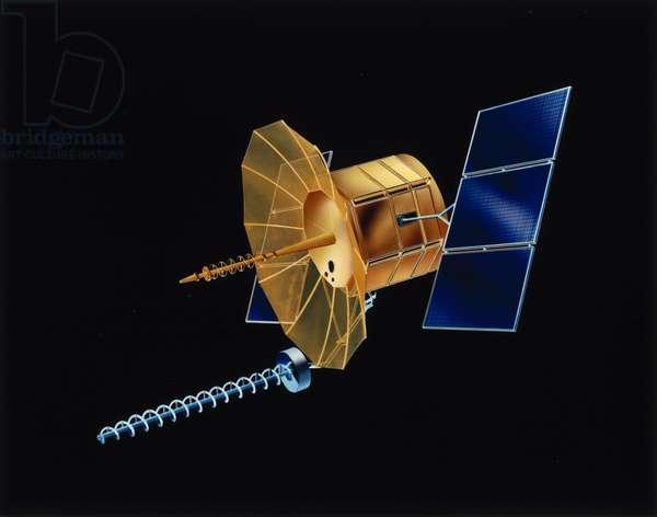 Satellites, Military, USA American FLTSATCOM satellite, 1981