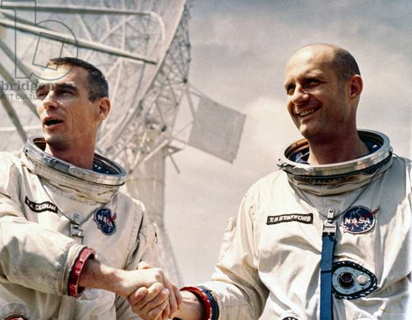 Manned Space Flight, USA, Mercury/Gemini Gemini 9 astronauts, 1966