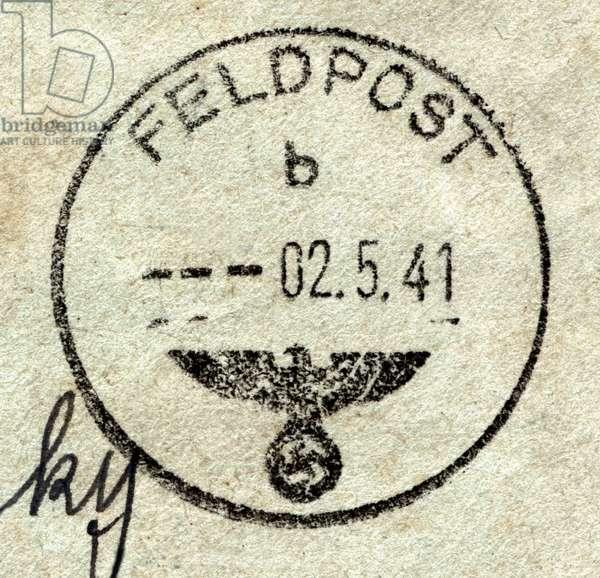 Germany : A World War Two German field postmark