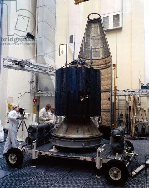 Satellites, Scientific, USA Applications Test Satellite (ATS), 1960s