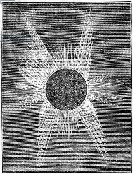 Solar eclipse, 1874