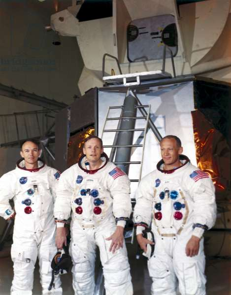 Manned Space Flight, USA, Apollo 11 The Apollo 11 astronauts, 1969