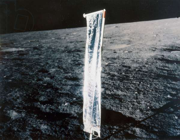 Manned Space Flight, USA, Apollo, General Solar wind experiment on the Moon, 1969-1972