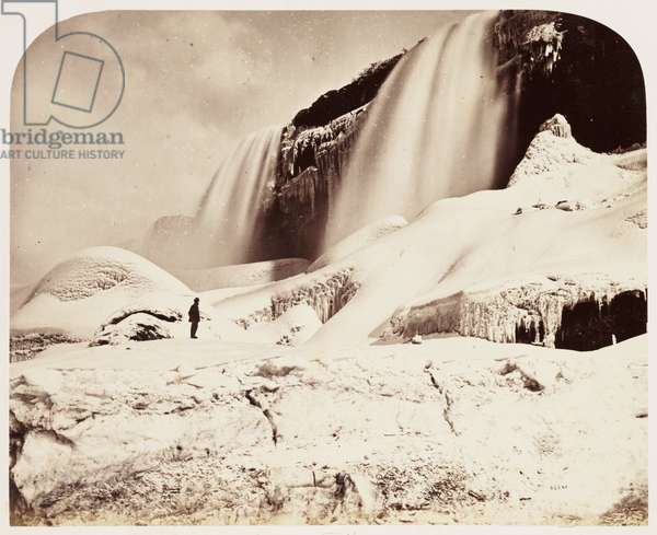 Part of American Falls, with Caves', 1860