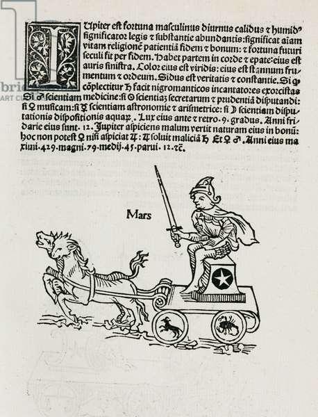 Mars symbolised, 1489