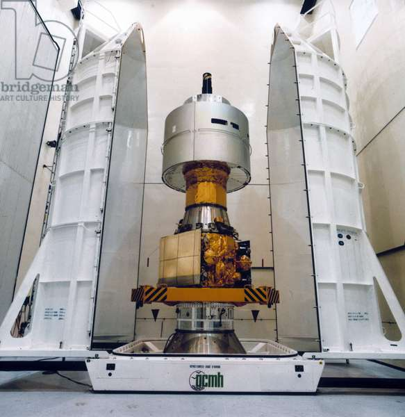 Satellites, Weather, European European Meteosat 2 and APPLE satellite, 1981