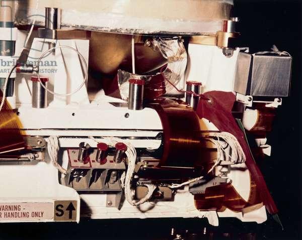 Manned Space Flight, USA, Apollo 11 Part of the Apollo 11 Lunar Module duringÊ construction, 1969