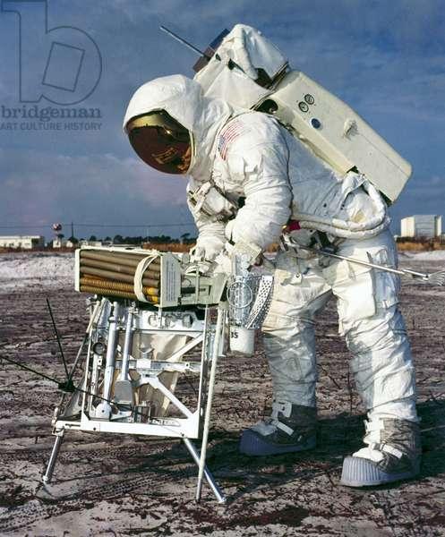 Manned Space Flight, USA, Apollo 13 Apollo 13 astronaut, training, 1970