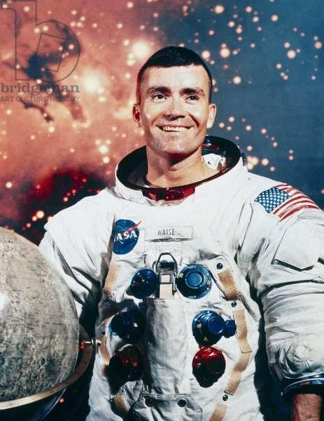 Manned Space Flight, USA, Apollo 13 Apollo 13 astronaut Fred Haise, 1970