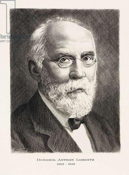 Hendrik Antoon Lorentz, Dutch mathematical physicist, c 1910s
