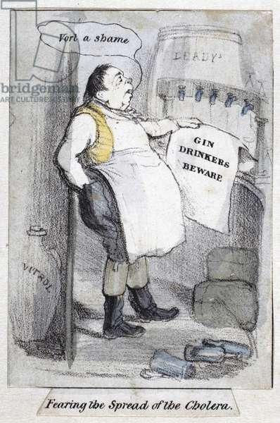 Diseases, Cholera 'Fearing the Spread of the Cholera', 1840-1850