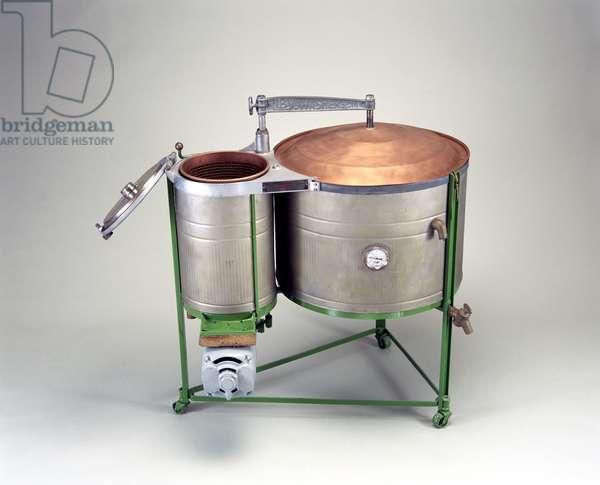 Riby twin tub washing machine, 1932
