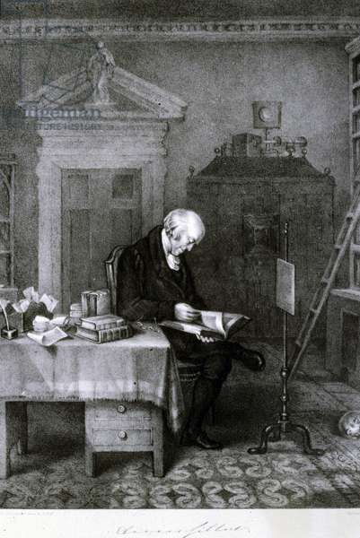Davies Gilbert, politician and patron of the arts and sciences, early 19th century