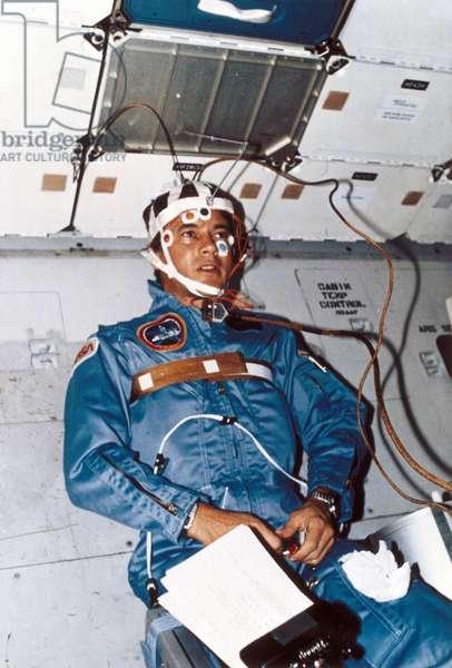 Manned Space Flight, USA, Shuttle Shuttle astronaut Robert Crippen, 1984